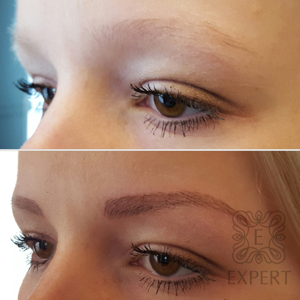 Perfekte Augenbrauenform: Permanent Make-up